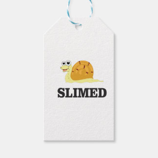 slimed snail gift tags