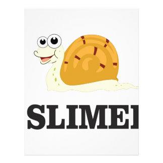 slimed snail letterhead