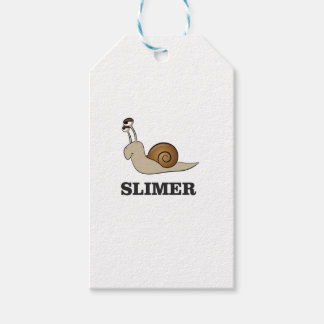 slimer the snail gift tags