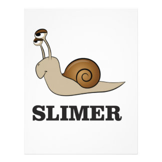 slimer the snail letterhead design