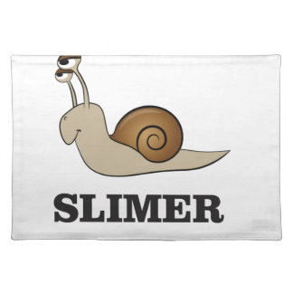 slimer the snail placemat