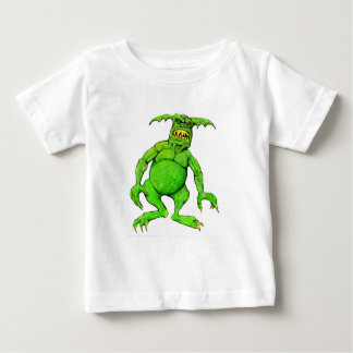 Slimey Green Monster Baby T-Shirt