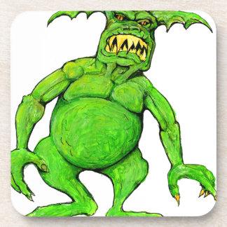 Slimey Green Monster Coaster