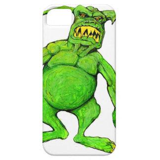 Slimey Green Monster iPhone 5 Cases