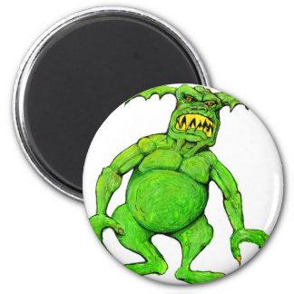 Slimey Green Monster Magnet
