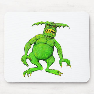 Slimey Green Monster Mouse Pad