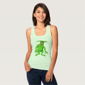 Slimey Green Monster Tank Top