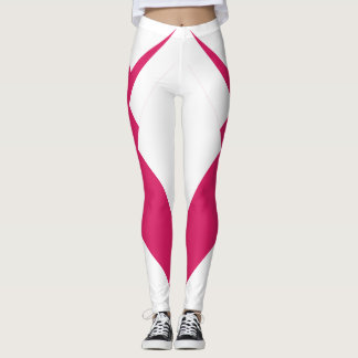 Slimming Sports Pants Pink Trendy Sporty Fashion