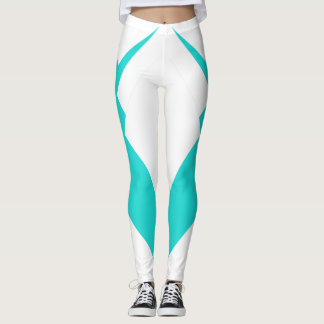 Slimming Sports Pants Turquoise Sporty Fashion