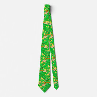Slimy Coffee Monster Tie