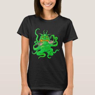 Slimy Green Coffee Monster T-Shirt