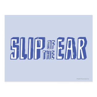 Slip of the Ear Postcard