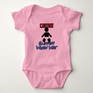 Slippery When Wet Baby Bodysuit