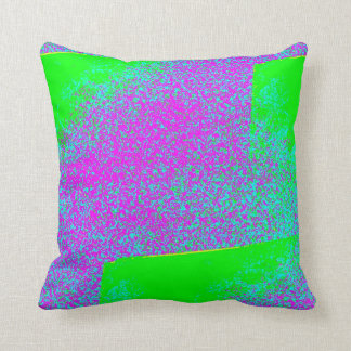 Slit Rug Throw Pillow