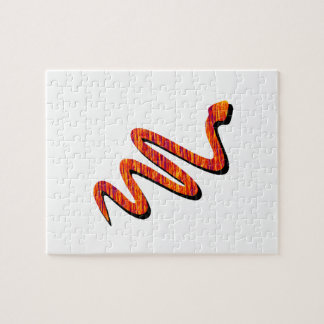 Slither Path Jigsaw Puzzle