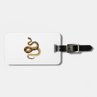 Slithering Expressions Luggage Tag