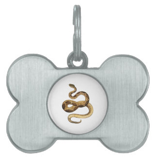 Slithering Expressions Pet Tag