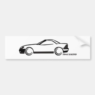 SLK Top Up Bumper Sticker