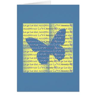 Slogan Butterfly Greeting Card