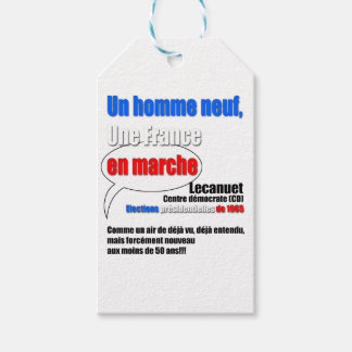 Slogan En Marche Pack Of Gift Tags