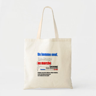 Slogan En Marche Tote Bag