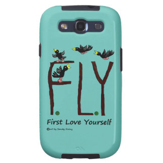 Slogan FLY First Love Yourself Samsung Galaxy S3 Covers