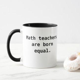 Slogan Math Teacher Mug Funny Pun One Liner Quote