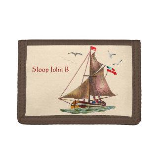 Sloop John B Trifold Wallet