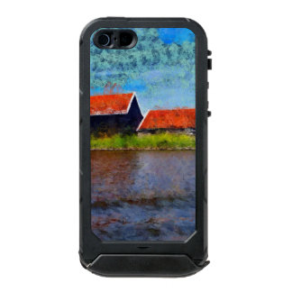 Sloping red roofs incipio ATLAS ID™ iPhone 5 case