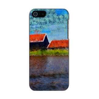 Sloping red roofs incipio feather® shine iPhone 5 case