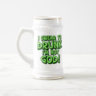Sloppy Drunk St Paddys Humor Beer Stein