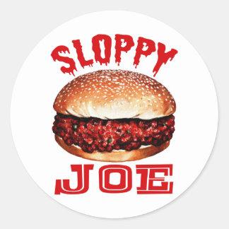 Sloppy Joe Classic Round Sticker