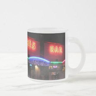 Sloppy Joe's Frosted Glass Coffee Mug