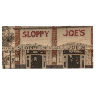 Sloppy Joe's Key West USB Flash Drive Wood USB 3.0 Flash Drive