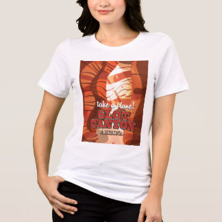 Slot Canyon Arizona travel poster T-Shirt