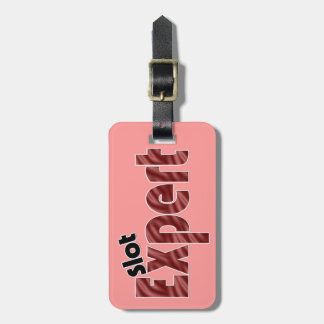 Slot Machine Expert Vegas Casino Luggage Tag