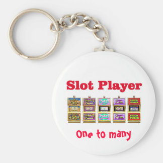 Slot Player One to many Keychain
