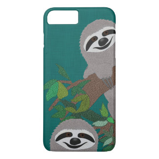 Sloth Apple iPhone 7 Plus, Barely There Phone Case