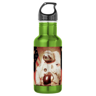 Sloth astronaut-sloth-space sloth-sloth gifts 532 ml water bottle