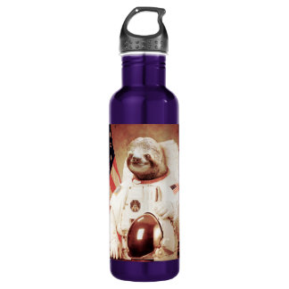Sloth astronaut-sloth-space sloth-sloth gifts 710 ml water bottle
