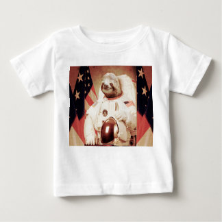 Sloth astronaut-sloth-space sloth-sloth gifts baby T-Shirt