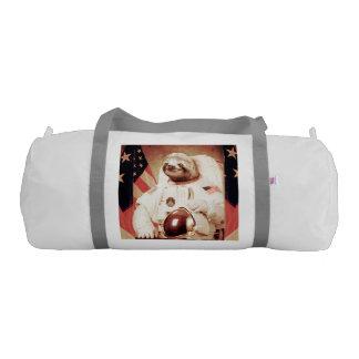 Sloth astronaut-sloth-space sloth-sloth gifts gym bag