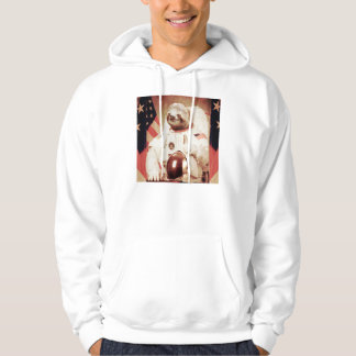 Sloth astronaut-sloth-space sloth-sloth gifts hoodie
