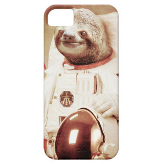 Sloth astronaut-sloth-space sloth-sloth gifts iPhone 5 covers