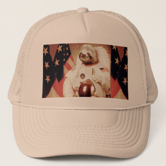 Sloth astronaut-sloth-space sloth-sloth gifts trucker hat
