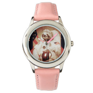 Sloth astronaut-sloth-space sloth-sloth gifts watch