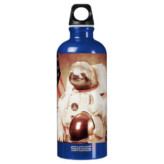 Sloth astronaut-sloth-space sloth-sloth gifts water bottle