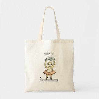 Sloth Ballet Tote Bag