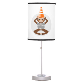 Sloth Be A Unicorn Table Lamp
