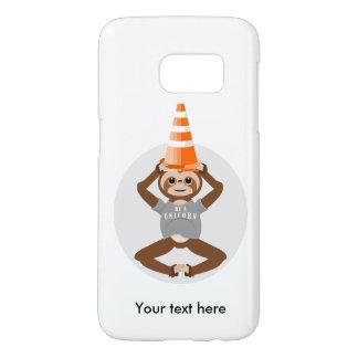 Sloth Be A Unicorn Traffic Cone Samsung Galaxy S7 Case